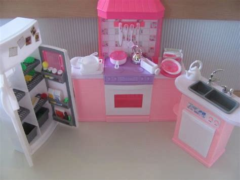 barbie doll house furniture sets barbie size dollhouse furniture kitchen set 23 97