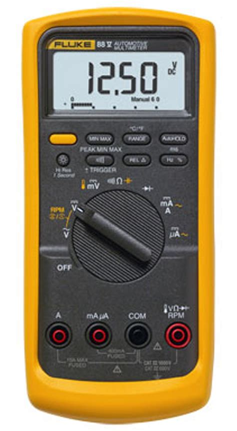 Multimeter Multimeter fluke 88v 88v deluxe automotive multimeter