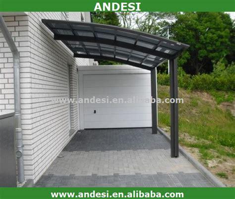 carport dach kunststoff aluminium carport mit kunststoff bogendach garage dach
