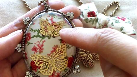 vintage shabby chic jewelry for embellies charms from