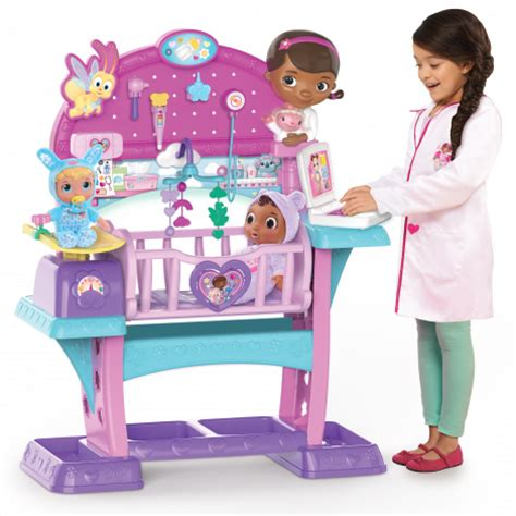 All In One Baby Crib Doc Mcstuffins Baby All In One Nursery Just Play Toys