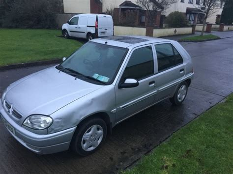 citeron saxo sx 2003 sliver for sale in newbridge kildare