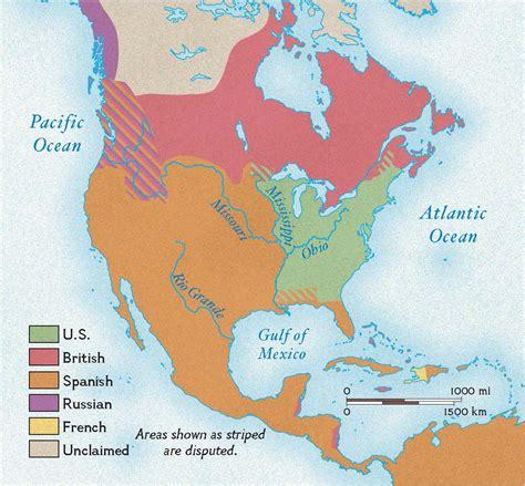 america map in 1783 dr melton