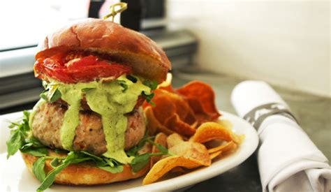 Secret Turkey 4 empire secret turkey burger from amanda freitag food network personality the new potato