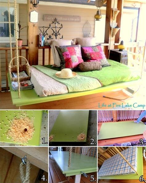 amazing diy interior design with hanging lounge in middle diy hanging bed for your porch
