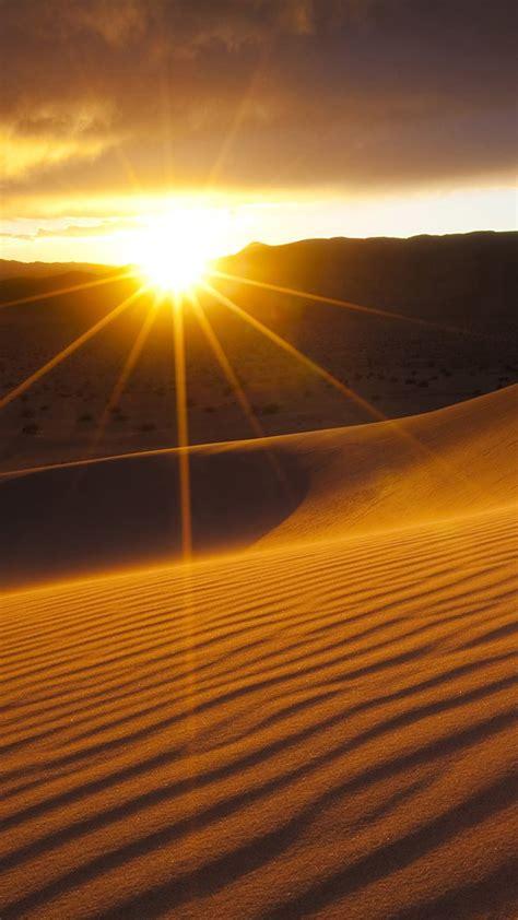 Desert sunset Galaxy S7 Wallpaper   Galaxy S7 Wallpapers