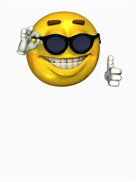 Meme Smiley Face - smiley with sunglasses thumbs up www pixshark com