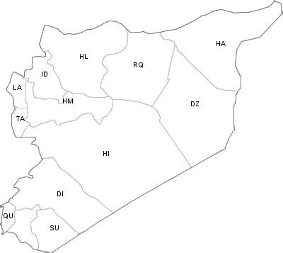 Syria War Template by File Map Of Syria With Iso 3166 2 Country Code Png