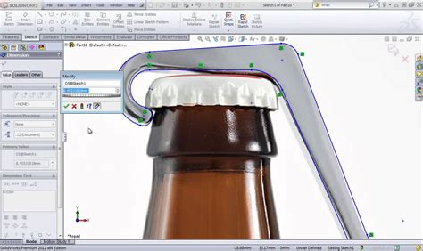 solidworks tutorials not loading solidworks training create a model using a sketch picture