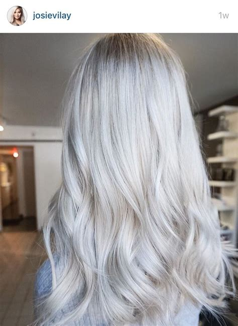 icy blonde on older women 1091 best hair grey silver images on pinterest