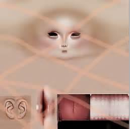 imvu skin template parce