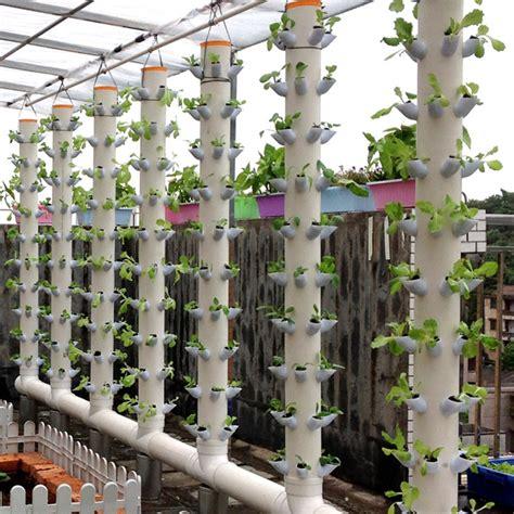 dwc hydroponics vertical tower gardern growing system