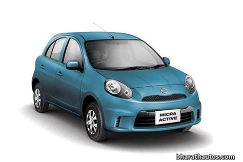 nissan micra active india nissan india launched base micra active petrol variant