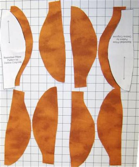 sewing pattern basketball jersey sew a fun basketball pillow free pattern sew and patterns