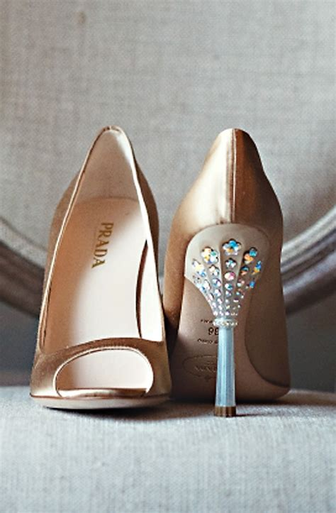 Prada Details Another Heel by Prada Wedding Shoes High End Weddings Details