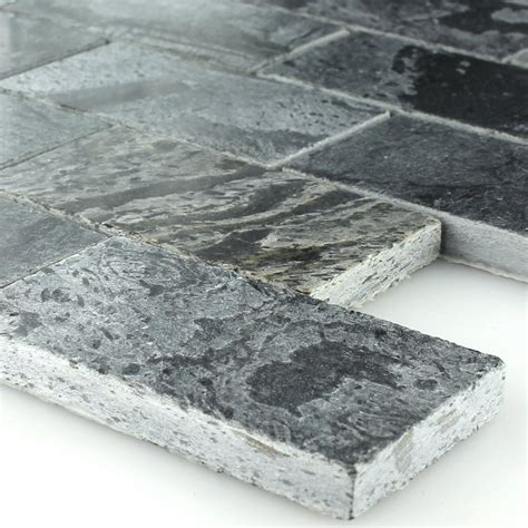Quarzit Fliese by Quarzit Naturstein Mosaik Fliese Poliert 50x100x10mm 1