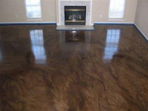 floor brilliant stain floors regarding concrete acid
