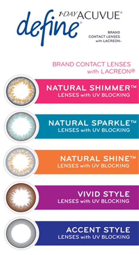 acuvue contacts color color contact lenses c u vision optometrists