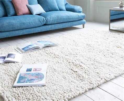 shaggy rug handmade floor rug loaf