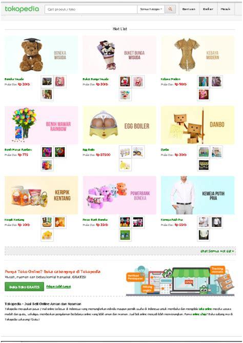 analisis layout toko ramdhan s blog analisis web design imk tokopedia