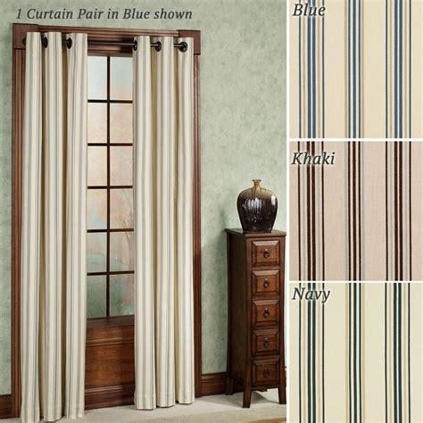 room darkening grommet curtains weathermate stripe thermalogic tm room darkening grommet curtains