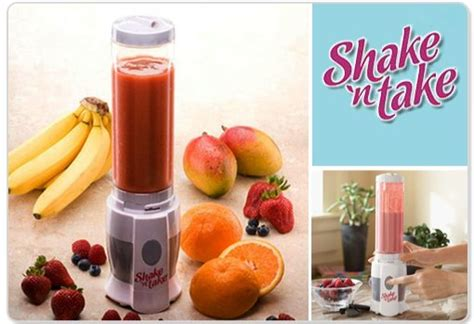 Shake N Take Ii 1 Botol Mini Blender Sporty Travel Portable Organizer other small appliances shake n take blender smoothie or protein shake maker quot brand new