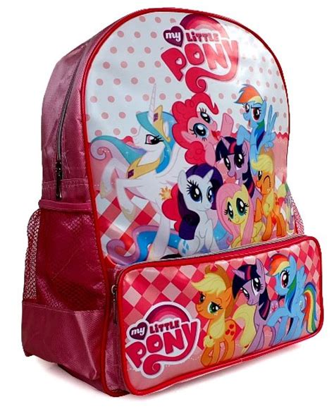 Tas Ransel Anak Sd Perempuan My Pony Karakter Disney Import tas pony sd