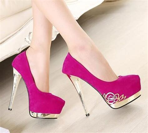 imagenes de zapatillas rosas tacones rosados de moda 3 zapatillas de moda
