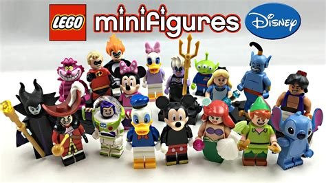 Minifigure The Disney Series lego disney minifigures series review all 18 minifigures