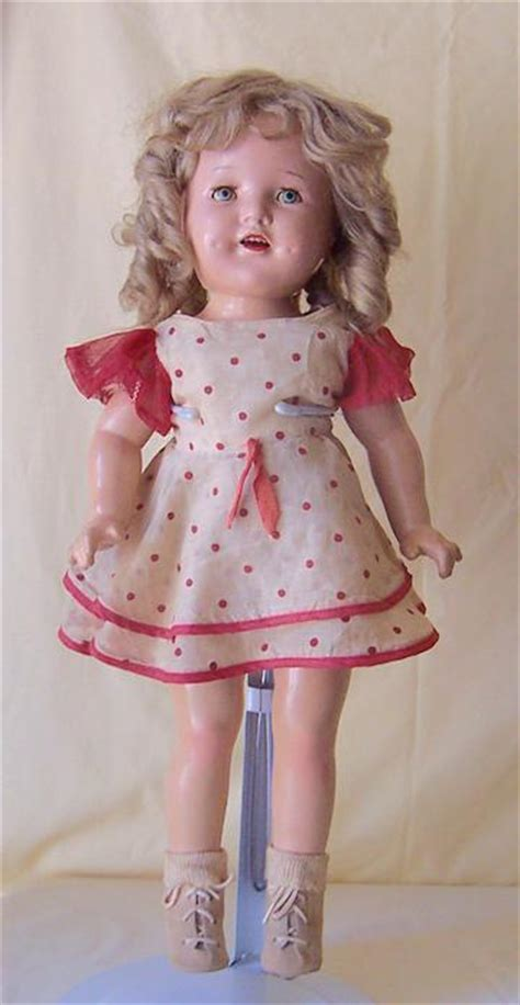 composition shirley temple doll 1930 s composition shirley temple doll 20 inch from