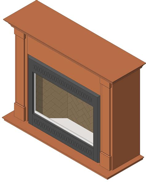 Revit Fireplace by All Fireplaces Xtrordinair A Division Of Travis