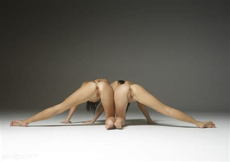Julietta And Magdalena In Acrobatic Art By Hegre Art