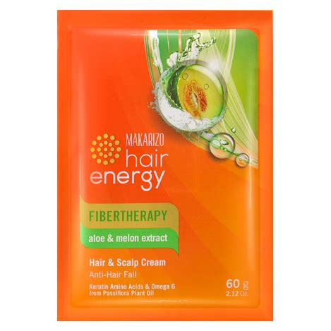 Sachet Fibertherapy Makarizo Hair Energy Creambath Scalp S 1 makarizo hair energy fibertherapy hair scalp aloe melon extract 60 gr sachet gogobli