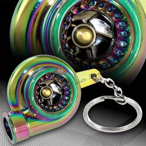 Universal Neo Chrome Turbo Charger Bearing Spinning
