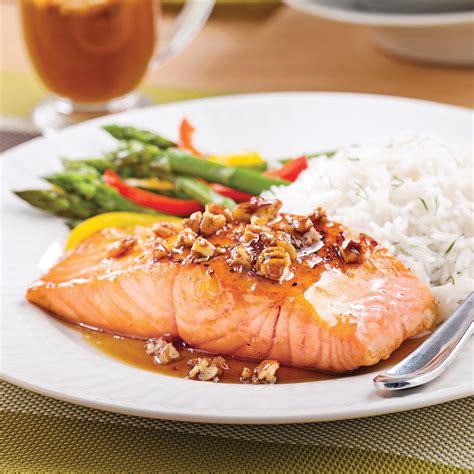 saumon cuisine saumon simplissime 233 rable et pacanes recettes cuisine