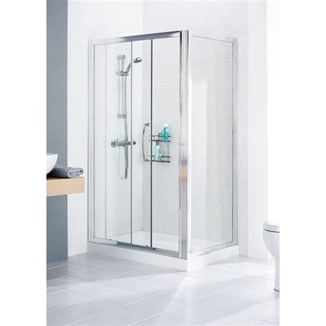 Buy Shower Door Lakes White Framed Shower Door Side Panel Buy At Bathroom City