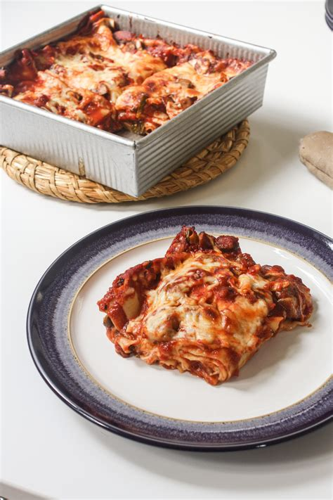 A Cozy Kitchen Lasagna For Two lasagna orchard kitchen