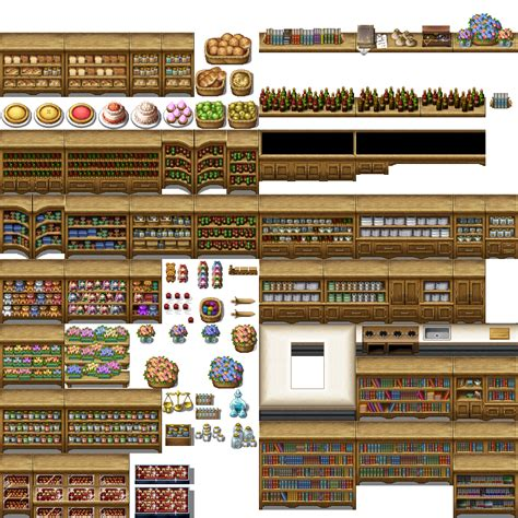 Kitchen Cabinets That Look Like Furniture whtdragon s tilesets addons fixes and more rpg maker