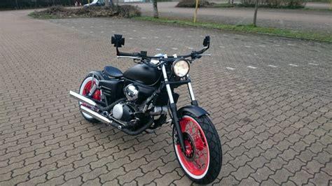 125er Motorrad Honda Shadow by Honda Shadow 125 Bobber Umbau 125er Forum De Motorrad