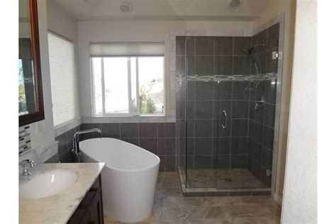 Modern Bathroom Renos Denver Modern Bathroom Remodel Starwood Renovation