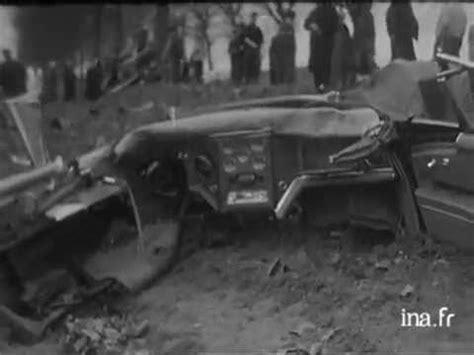 mort d albert camus dans un accident de voiture vid 233 o ina fr youtube