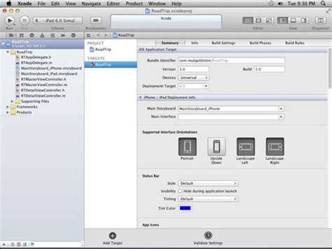 xcode project layout overview of the project editor in xcode dummies