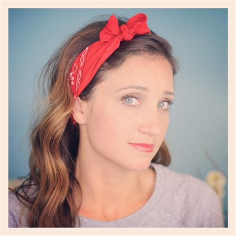 bandana on six diy 1 minute bandana hairstyles hairstyles