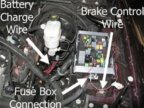 brake controller installation    chevrolet