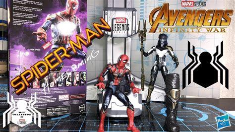 marvel legends iron spider mcu spider infinity war mcu thanos baf wave