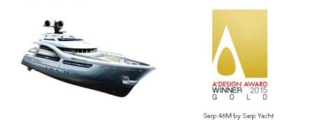 yacht design competition 2015 a design award 2015 winner superyacht sarp 46m yacht