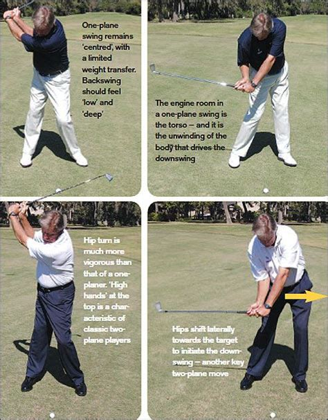 one plane golf swing golf digest one two plane golf swings a rough guide golf