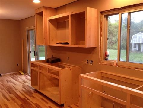 how to build your own kitchen cabinets build your own kitchen cabinets with plans by so here