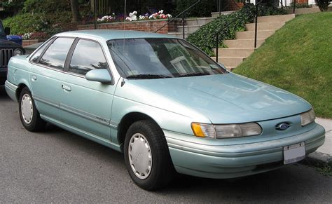 ford taures ford taurus second generation