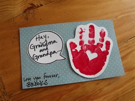 grandparents day craft ideas for grandparents day card